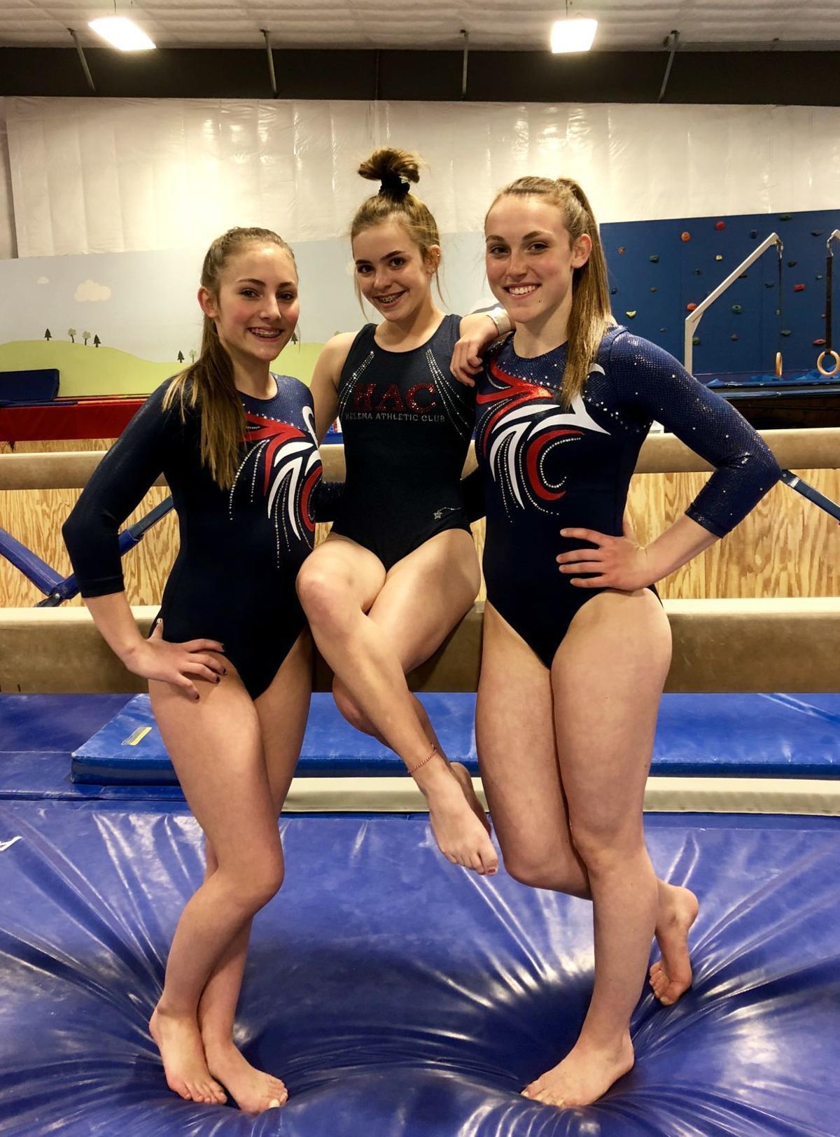 Three Helena Athletic Club Gymnasts Ready For Regional