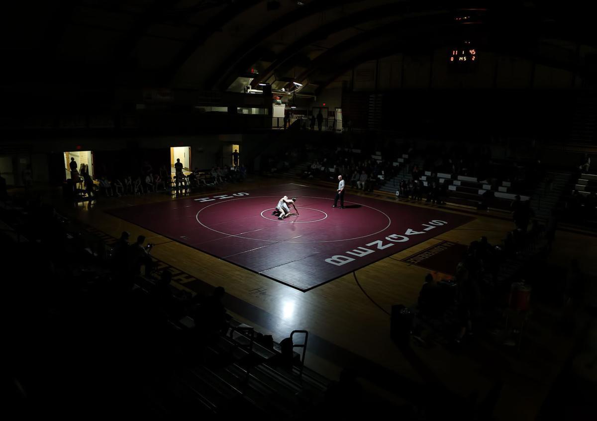 wrestling; HHS vs Sentinel