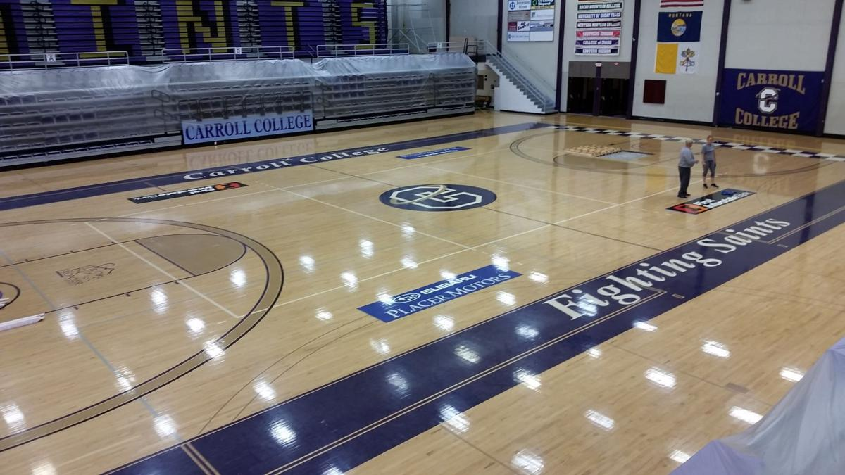 Carroll College floor