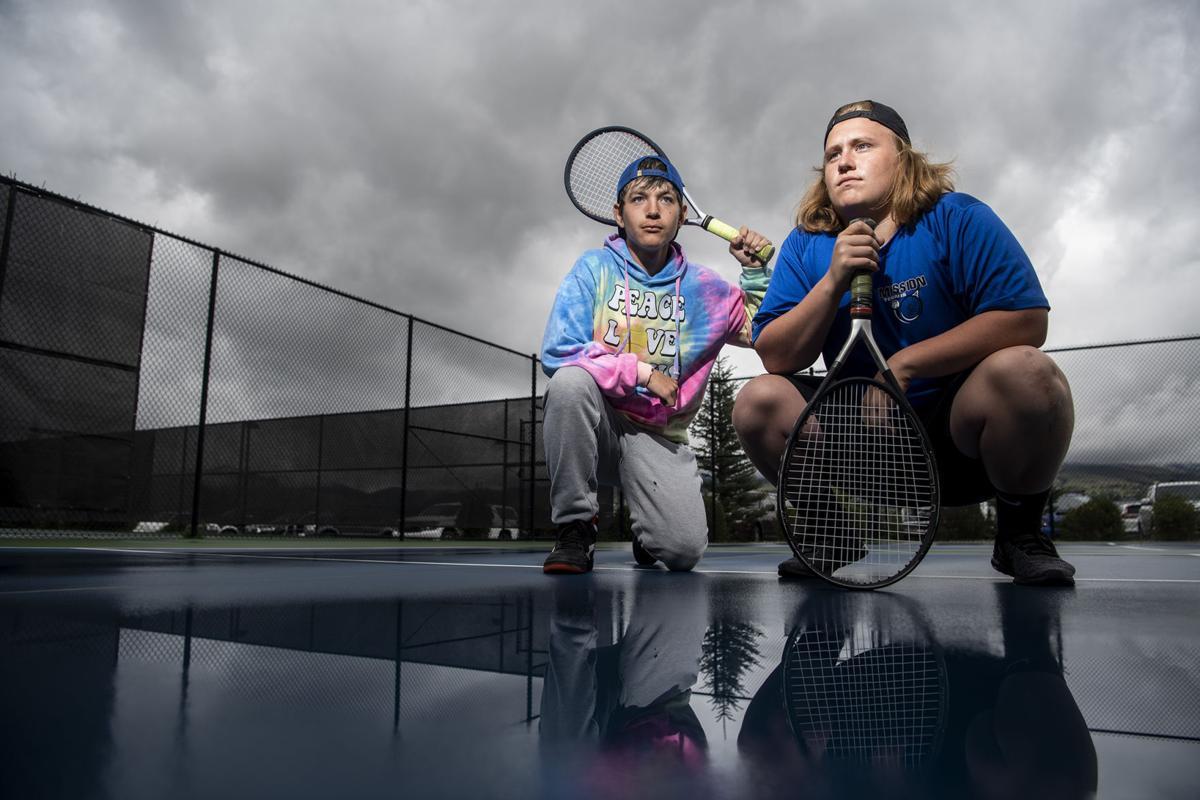 State B-C tennis: Kayden Carter and Lalo Bravo