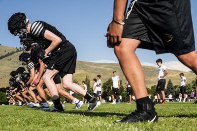Sentinel football practice 01