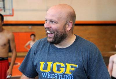 Wrestling camp's Caleb Schaeffer