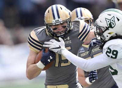 Montana State Runs Wild In 30 22 Win Over Portland State