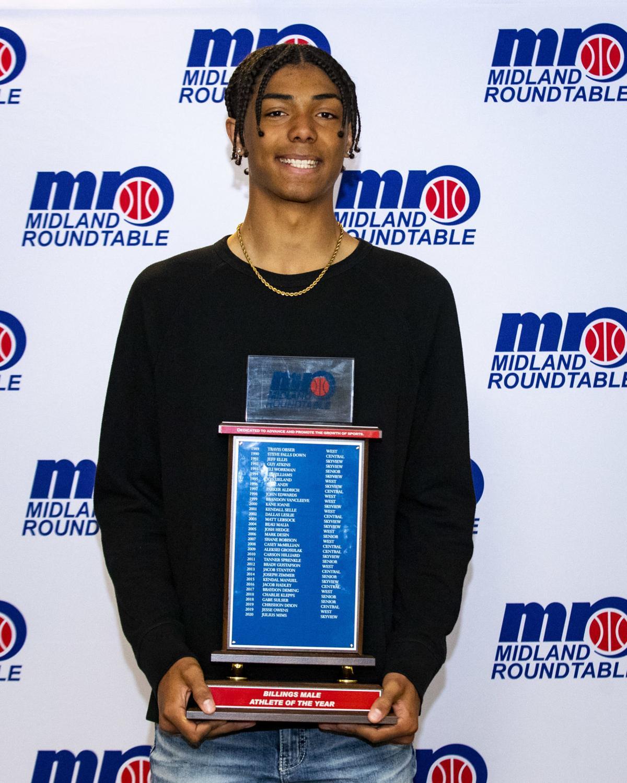 Midland Roundtable Athlete of the Year awards ceremony