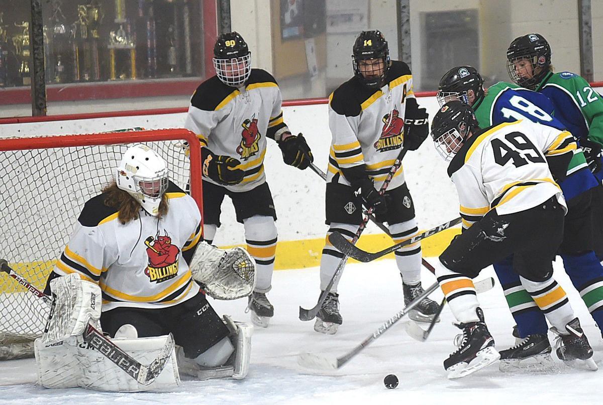Hockey scramble