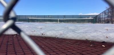 Snow at Playfair