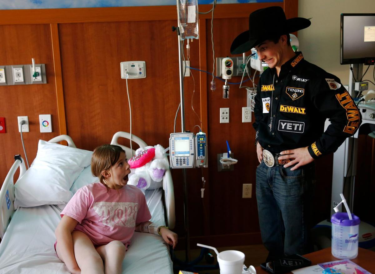 Pbr World Champion Jess Lockwood Takes A Moment To
