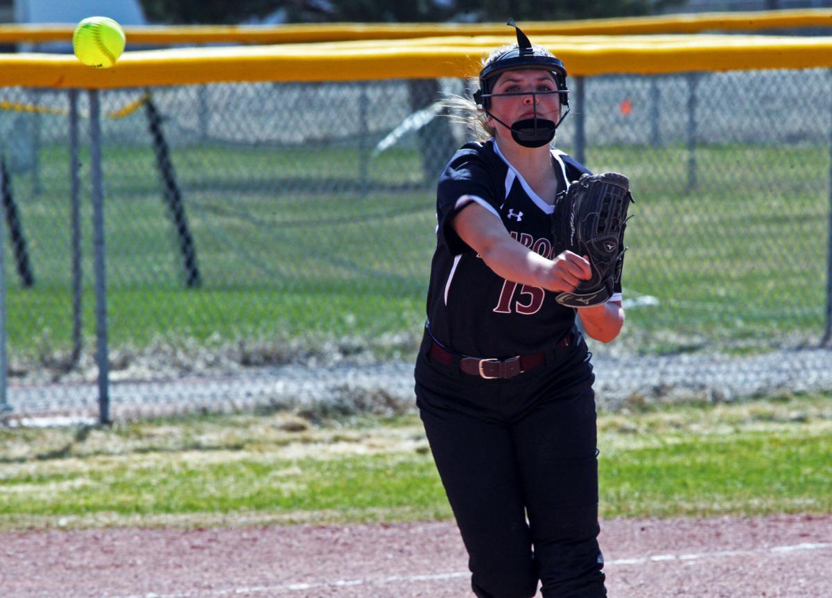 Maddie Kump softball