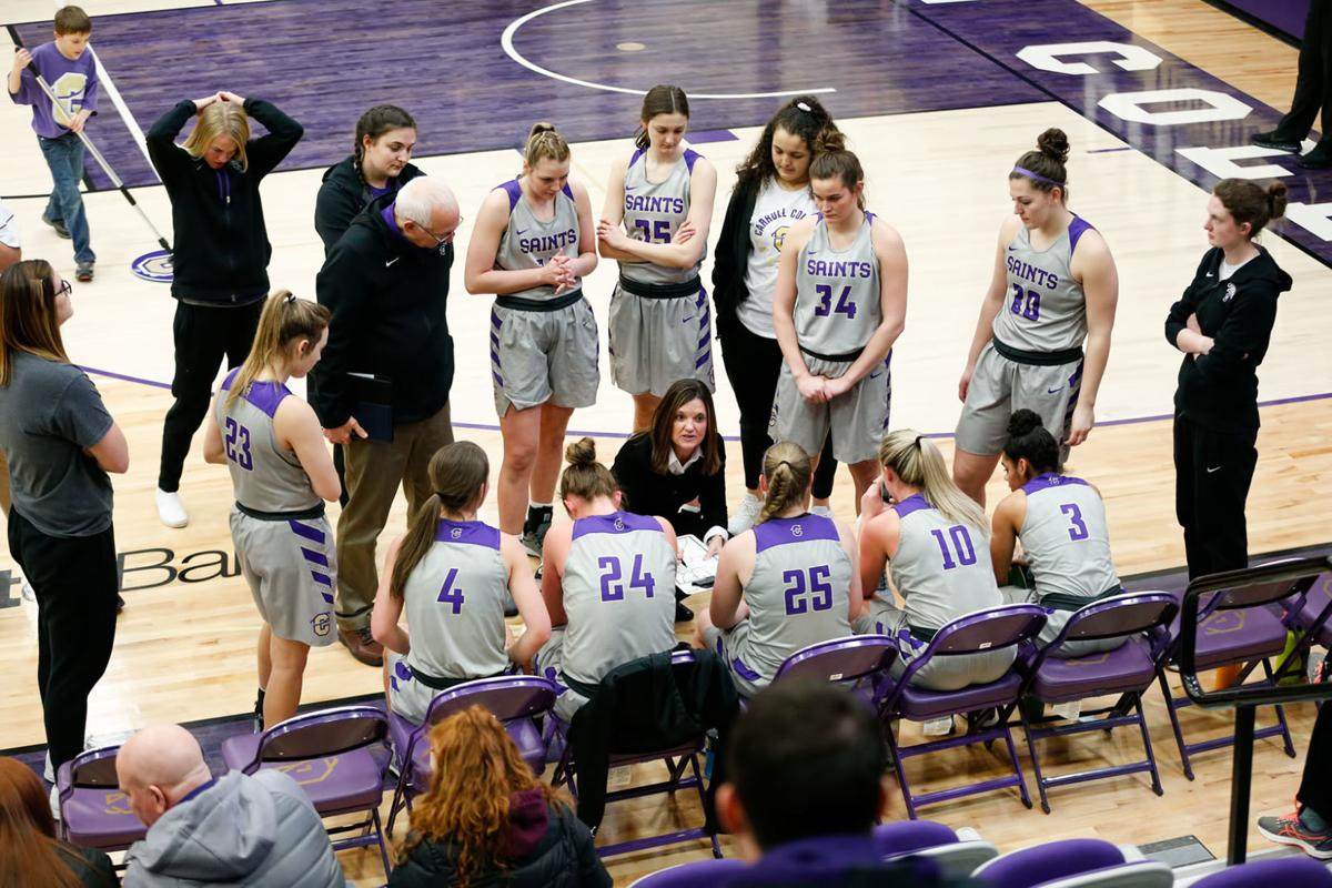Saints women's basketball