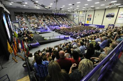 An overview of Carroll College's 109th Commencement Ceremony Saturday afternoon.