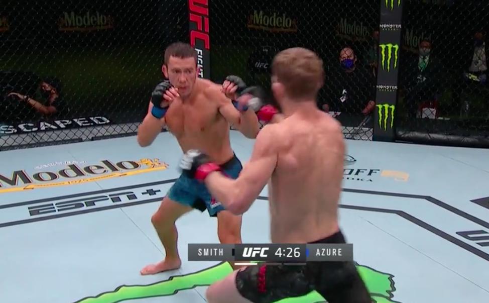 Azure fights Smith round 1