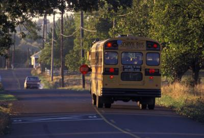 school bus stockimage
