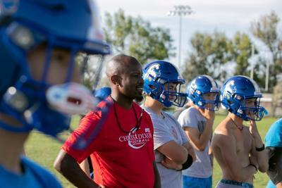 Chris Dixon leads Shepherd High School football