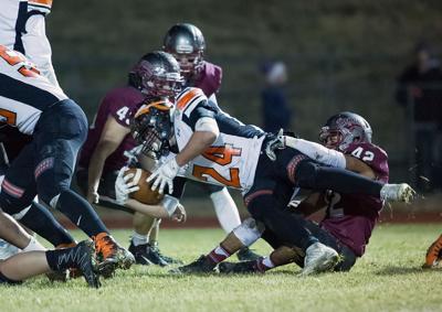 football; HHS vs Flathead