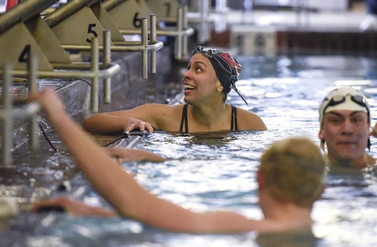Bozeman High School Invitational Swim Meet (copy) 2