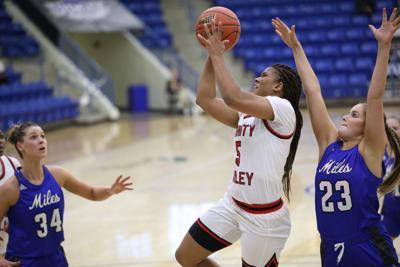 NJCAA DI women's basketball: Miles CC vs. Trinity Valley CC