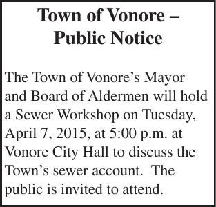 Town of Vonore –