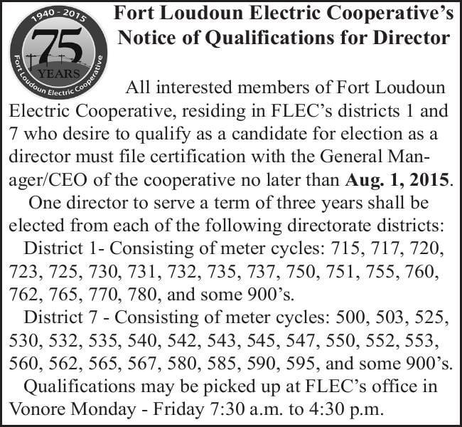 Fort Loudoun Electric Cooperative's