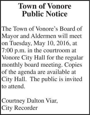 Town of Vonore