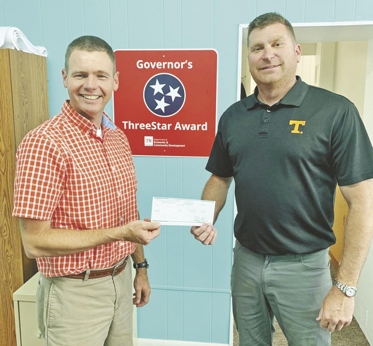 County gives $25,000 to Tellico Plains for community development