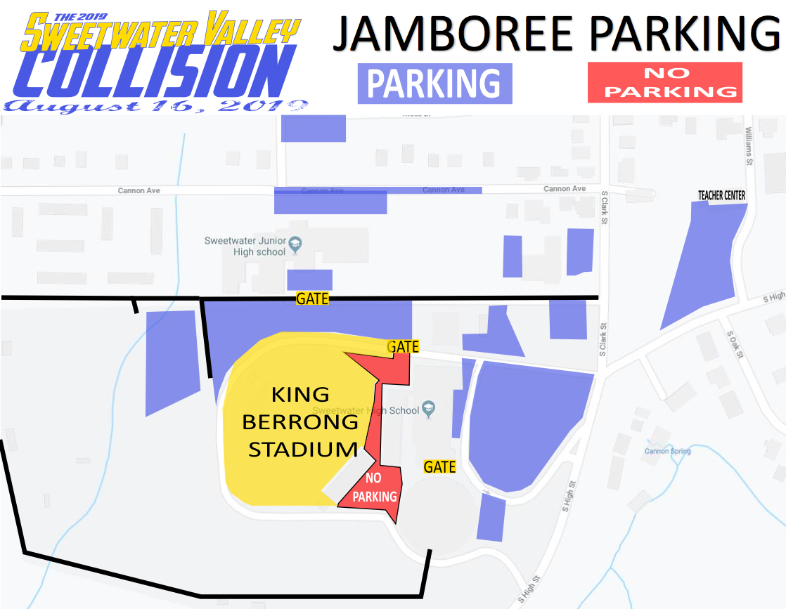 Sweetwater Jamboree Parking Map-2