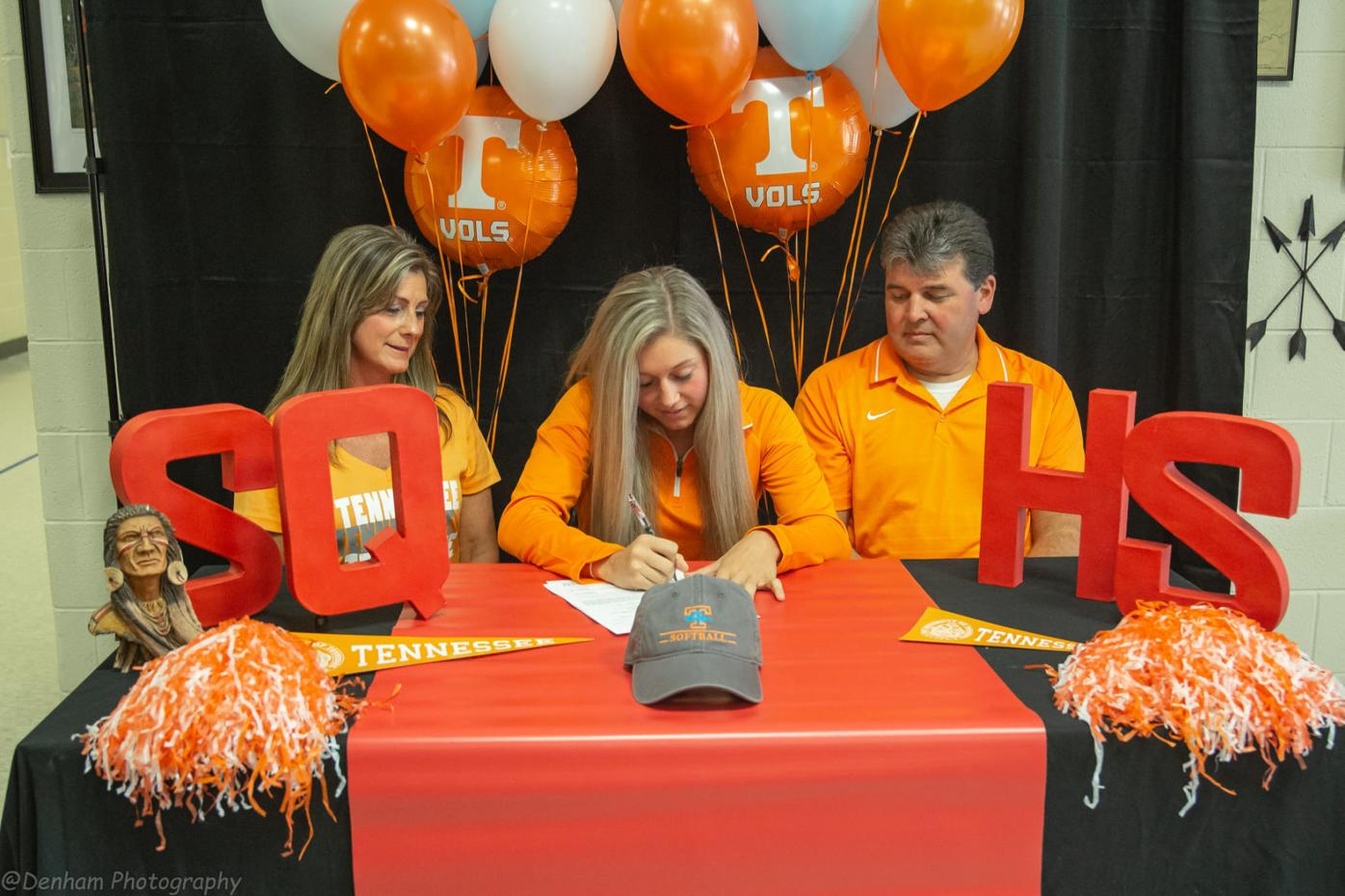 Underwood takes next step; signs with UT softball