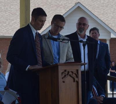 Community gathers for Memorial Park dedication