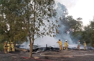 Fire leads to total loss in Madisonville (copy)