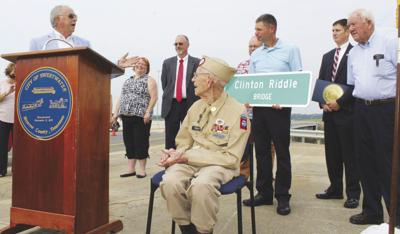 Clinton Riddle Bridge dedicated in Sweetwater