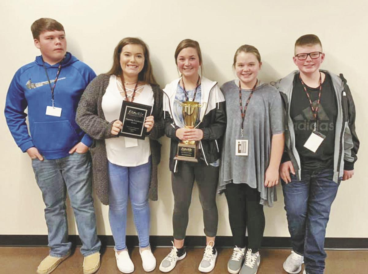 VMS students win first place at state Future City Competition