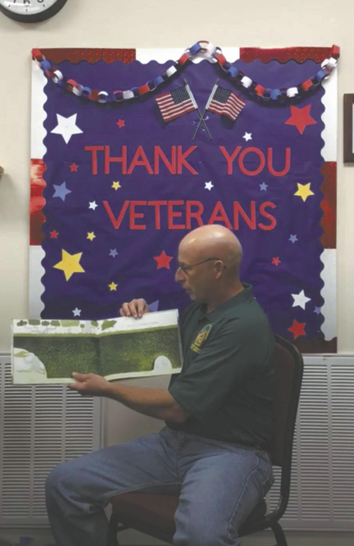 Special Veterans Day story time at TPL
