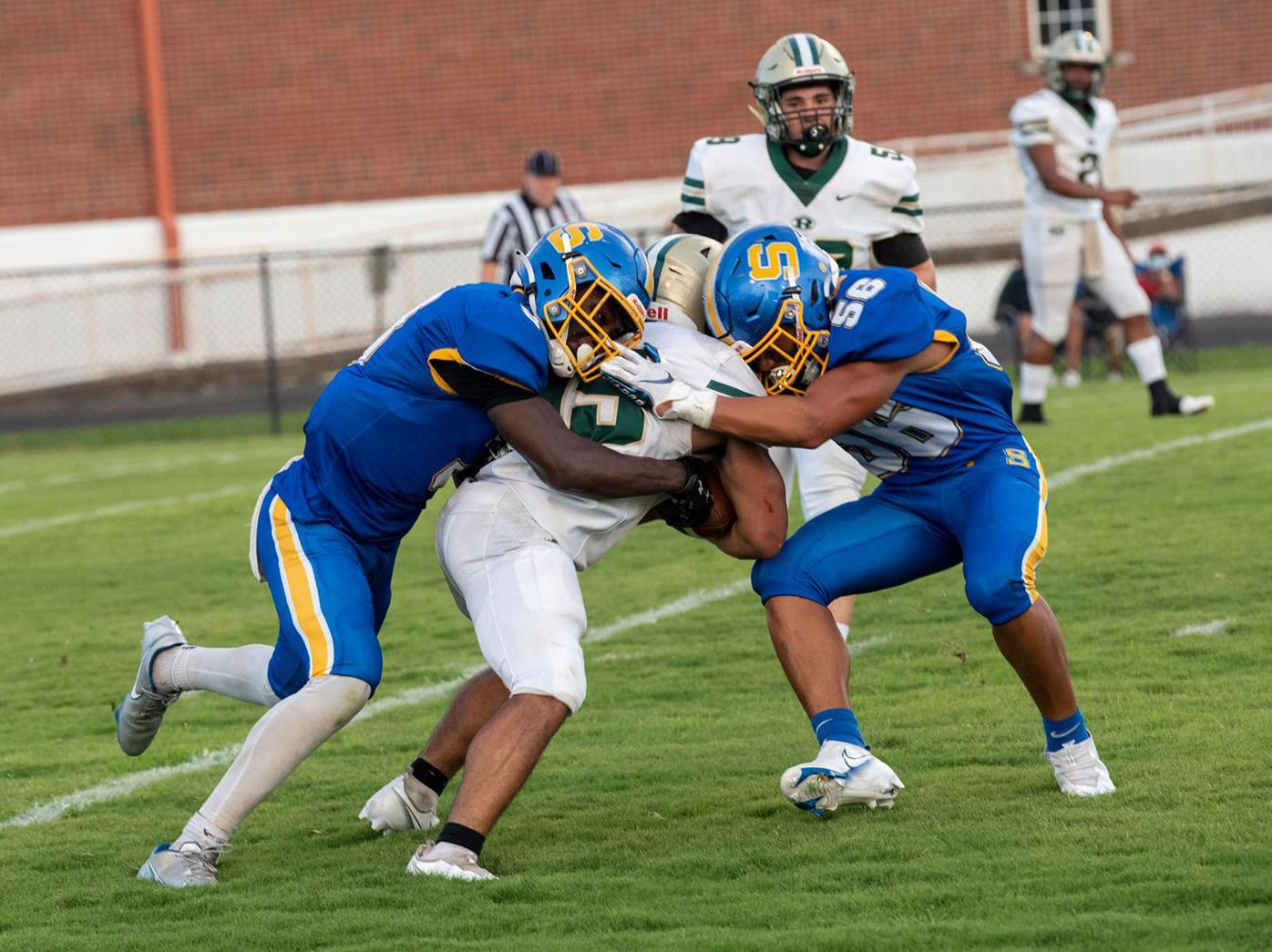 Sweetwater team tackle