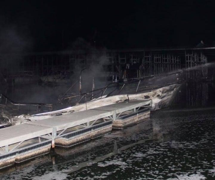 Roane County dock explosion