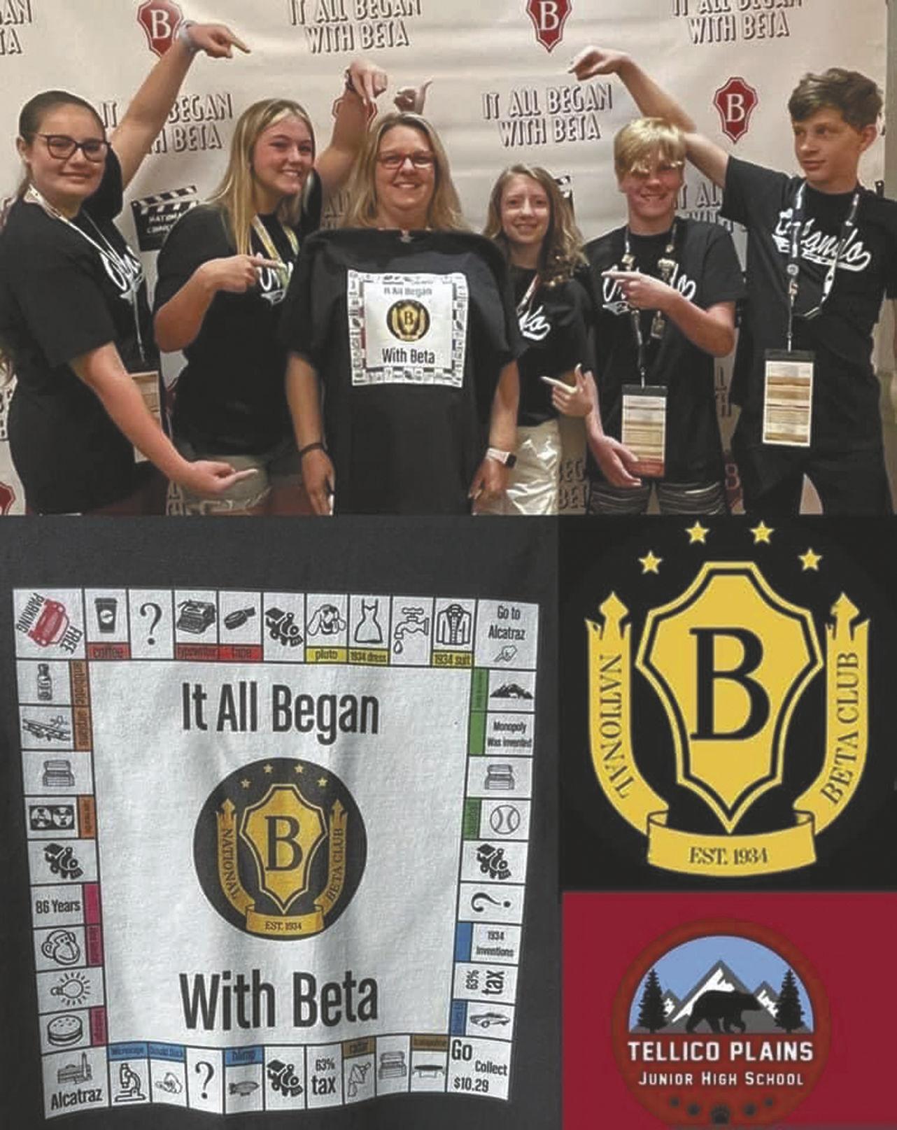 TPJHS Beta Club brings home five national awards