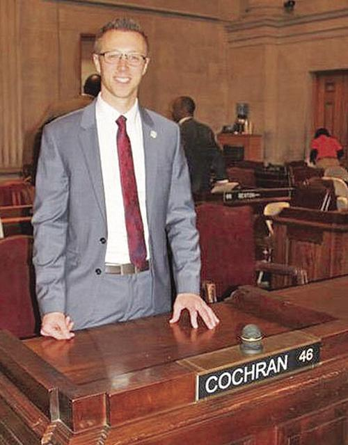 Mark Cochran takes Oath of Office