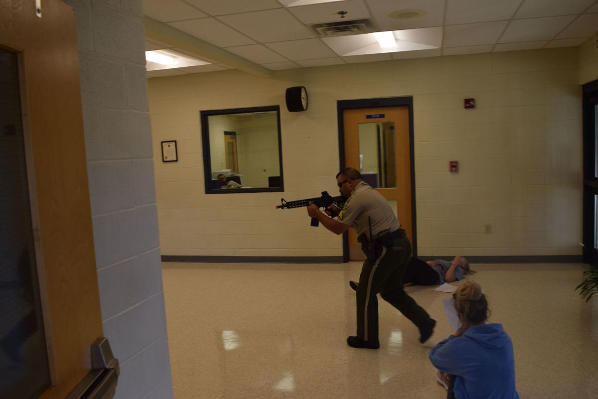 Vonore Middle School Active Shooter Training