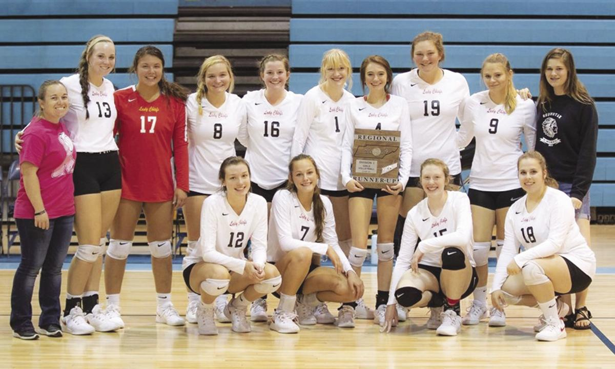 Sequoyah volleyball District 5-AA runners-up