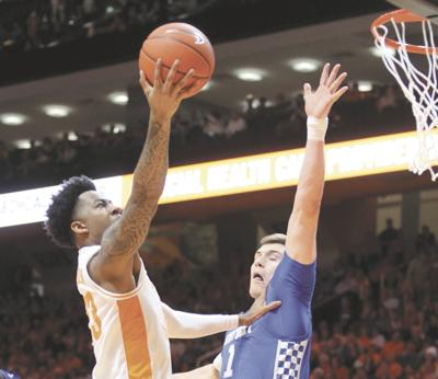 MEN'S COLLEGE BASKETBALL: Tennessee's Jordan Bowden vs. Kentucky