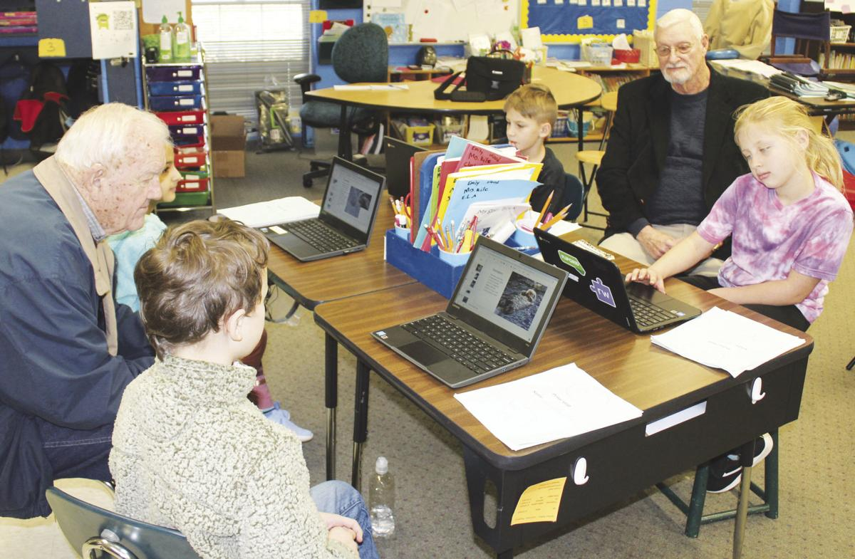Commissioners see classroom technology up close and personal