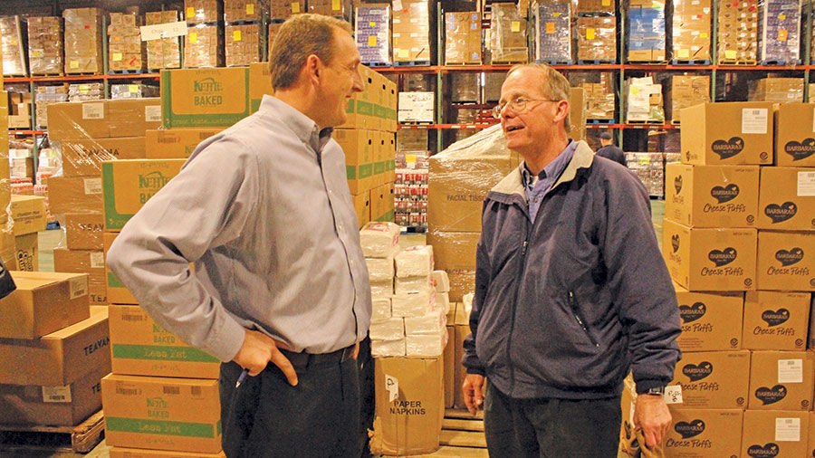 Steve Nolan, a Midwest Food Bank volunteer