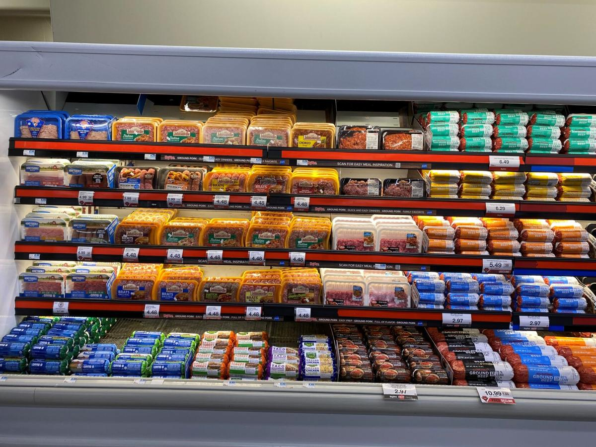 Meat Counter featuring ground pork