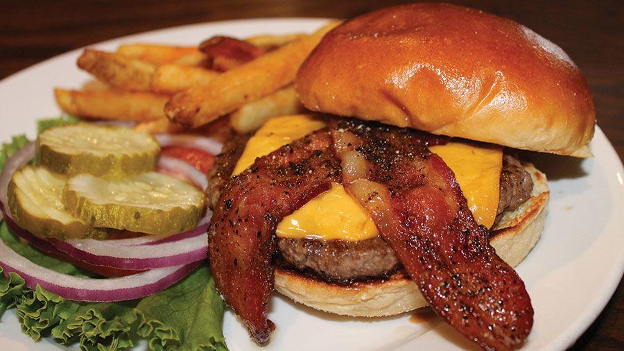 The Wood Iron Original Burger