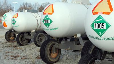 anhydrous tanks