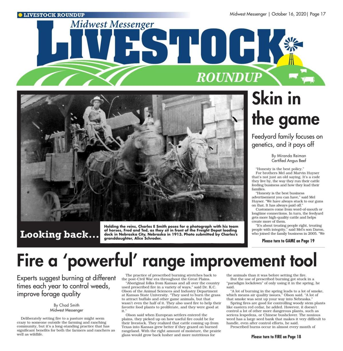 Livestock Roundup 10-16-2020