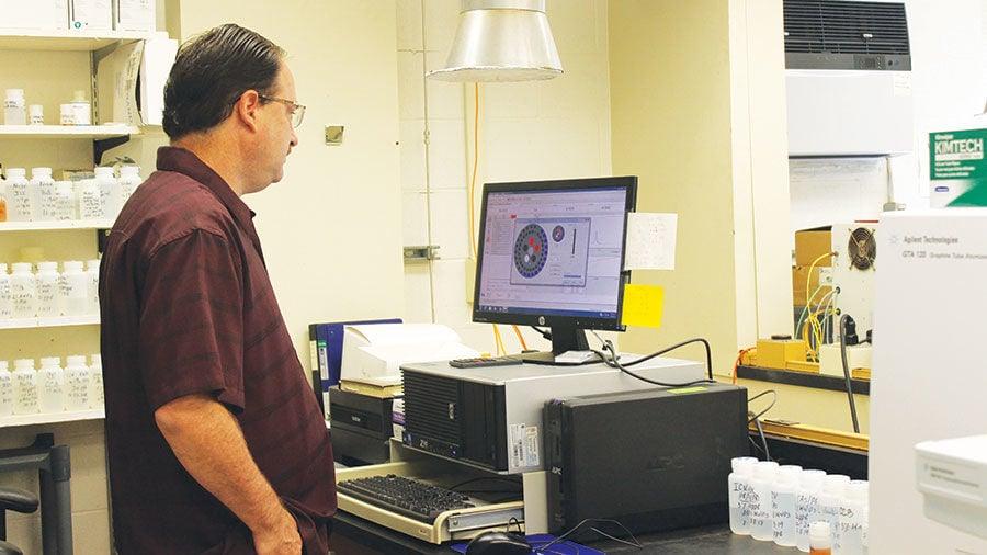 Illinois State Water Survey lab supervisor