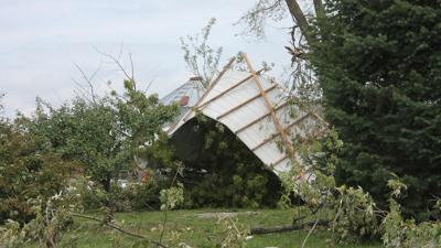 barns and sheds damage