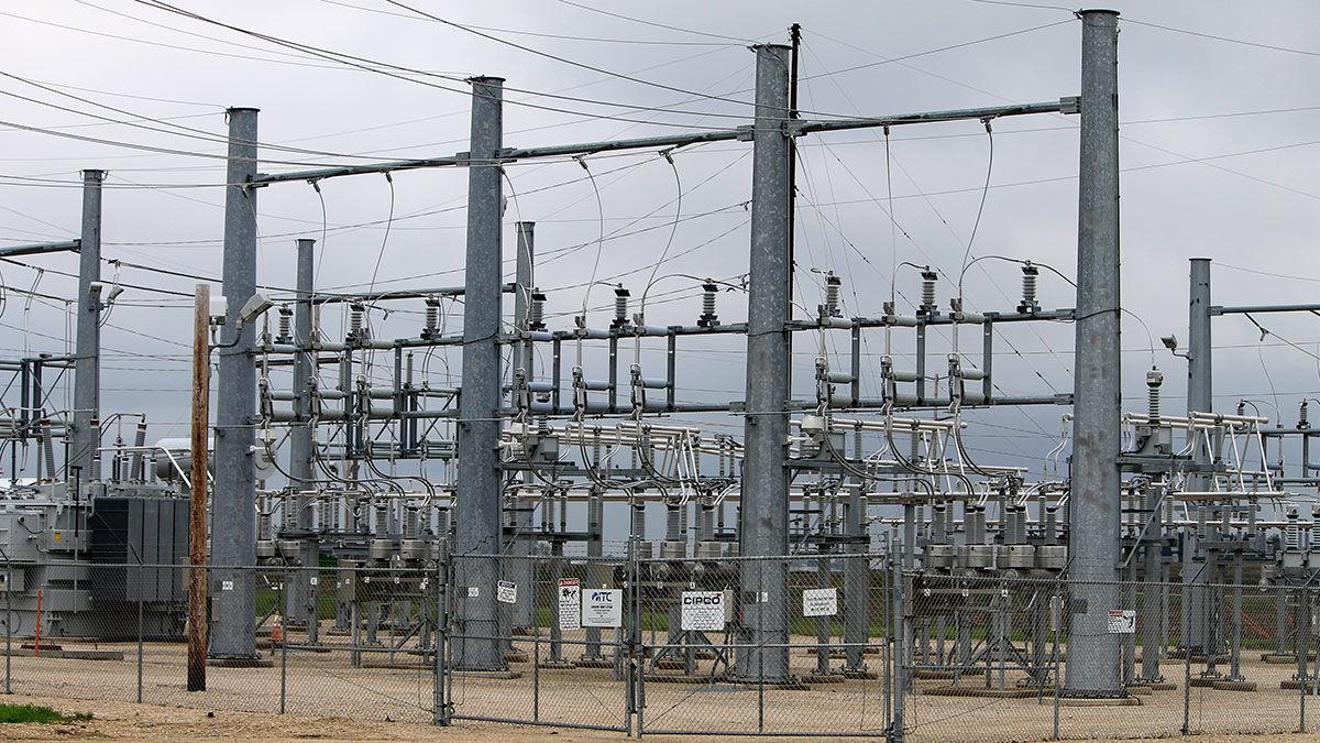 Central Iowa Power Cooperative (CIPCO) substation Coggon IA