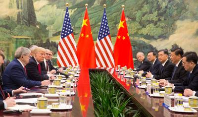 Presidents Trump and Xi