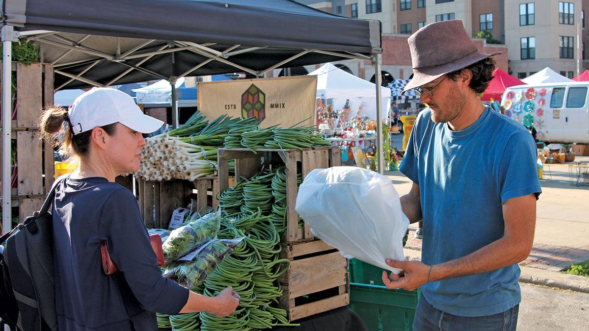 Grade A Gardens farmers market