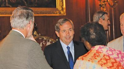 Ambassador David MacNaughto